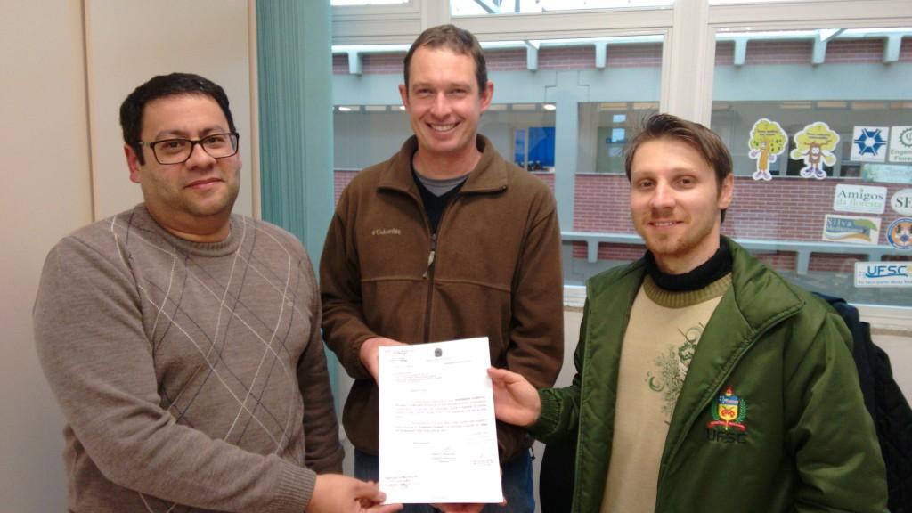 Foto reconhecimento do curso pelo CREA